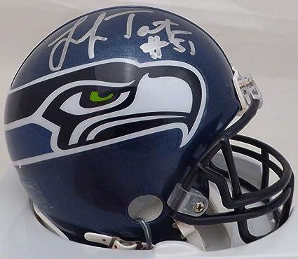 Image Unavailable. Image not available for. Color  Lofa Tatupu Autographed  Seattle Seahawks ... 87d7b1fd2