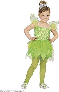 WIDMANN Desconocido Disfraz de hada verde para niña: Amazon.es ...