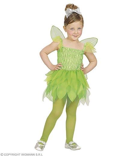 4c67ddca1dff8 WIDMANN Desconocido Disfraz de hada verde para niña  Amazon.es ...