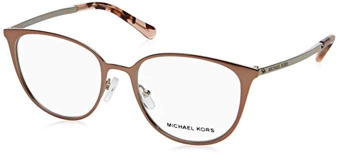 1f6639fb18 Image Unavailable. Image not available for. Color  MICHAEL KORS Eyeglasses  MK3017 1186 Satin Rose Gold Silver
