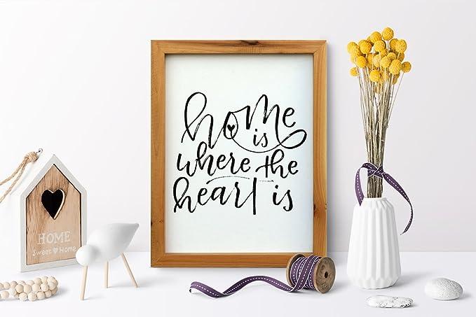 Frasi Ufficio Inglese : Mobili rebecca® quadro citazioni quadretto da parete frasi inglese
