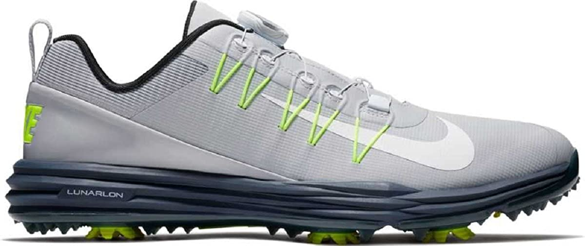 Nike Lunar Command 2 Boa Mens Golf Shoes 888552 Sneakers Trainers 28.0 cm Wolf Grey White Blue 005 B071ZLHN5J