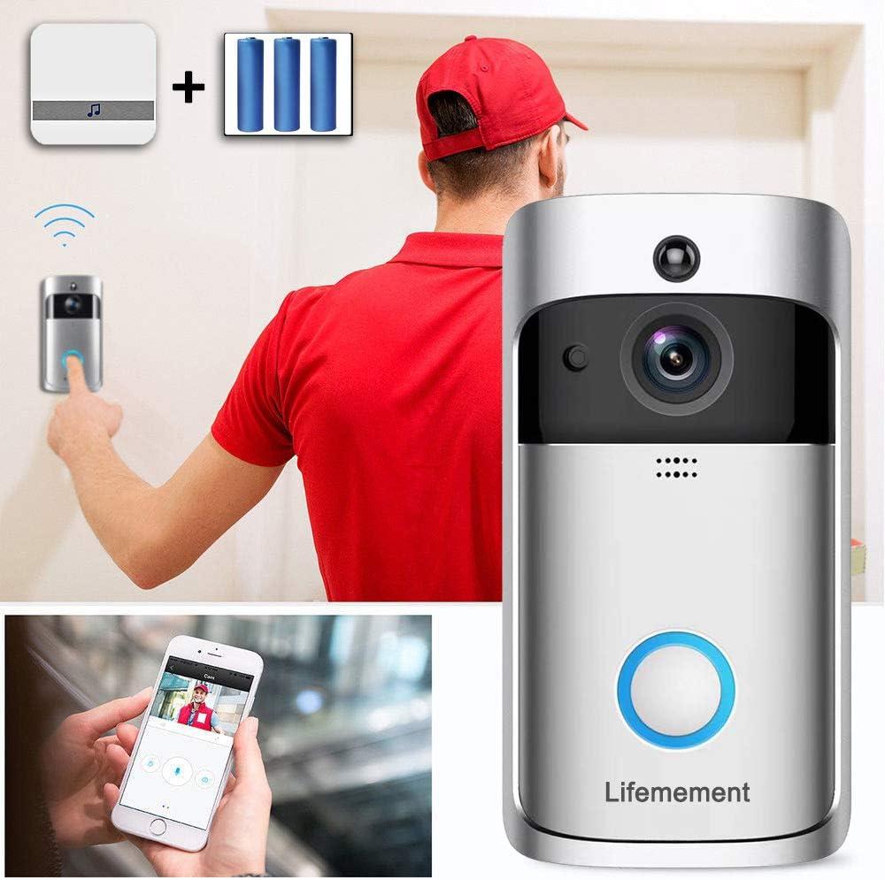 Lifemement Wireless Doorbell WiFi Smart Video Doorbell