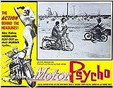 Motor Psycho - 1965 - Movie Poster