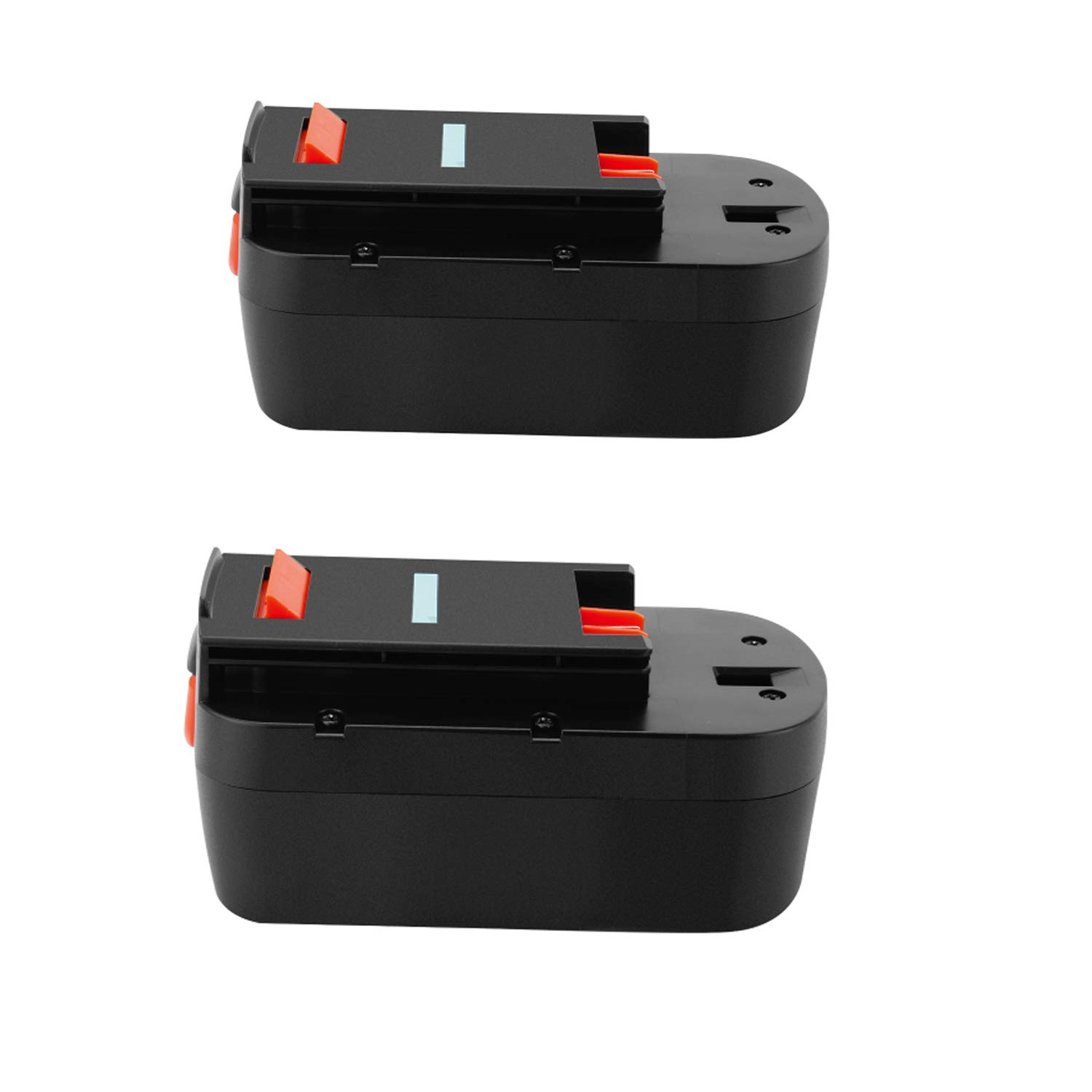 Lotive 2 Packs 18V 3.0Ah Ni-MH Replacement Battery Compatible With Black&Decker HPB18 A1718 A18NH HPB18-OPE A18 Firestorm A18 FS18BX FS180BX FS18FL FSB18 Replacement Power Cordless Power Tools Battery by Lotive