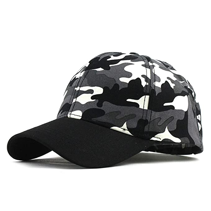5da9fe33f Xivikow Snow Camo Baseball Cap Men Tactical Cap Camouflage Hat for ...