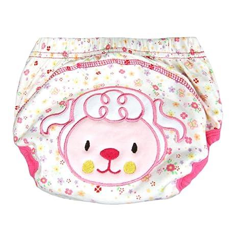 Niños Niñas Bebés Transpirable Lavable Wrap Pañal Ropa interior ...