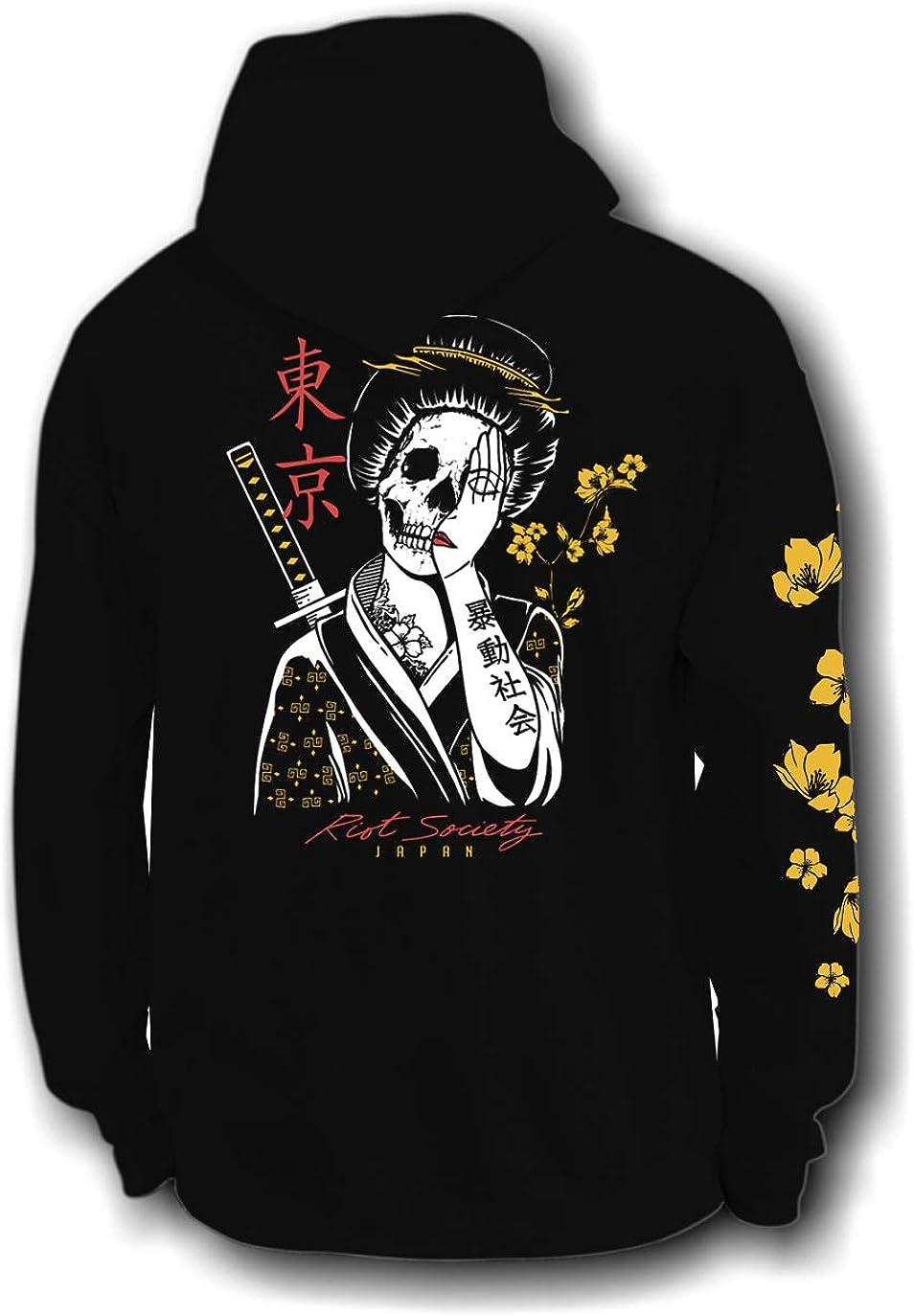 Riot Society Men's Graphic Hoodie Hooded Sweatshirt