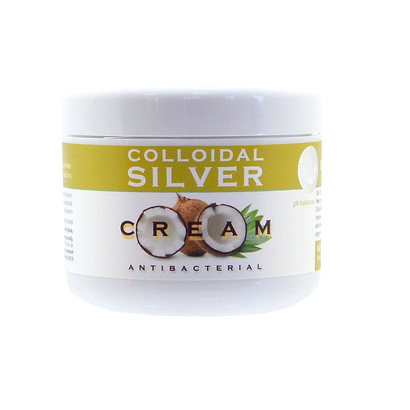 Natures Greatest Secret Intensive Coconut Oil and 80% Colloidal Silver Amber Salve -100ml HealthCenter NGS-Amber
