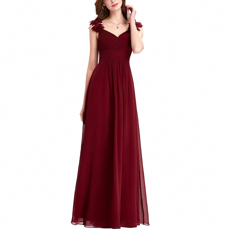 Real Photo Floor Length Long Evening Dresses Kleider Lang Elegant ...