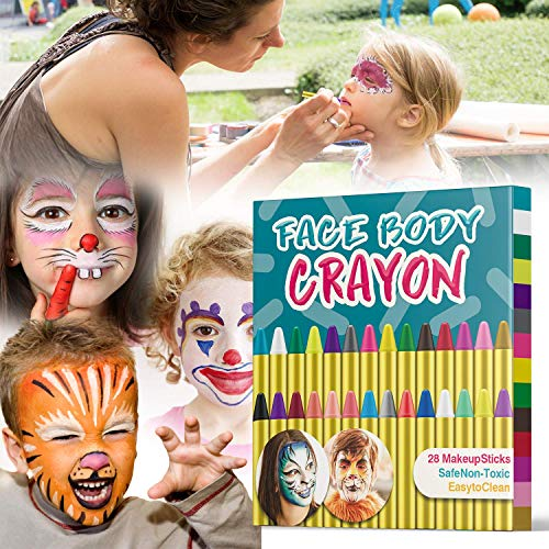 Muscccm Painting Crayons Colors Makeup