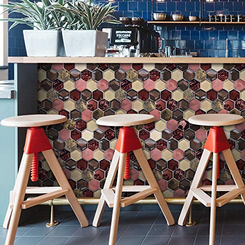 FAN Wandbild 20x500cm Dekor Decor Wandaufkleber H Aufkleber 12D Brick Simulations selbstklebende Küche Adhesive Room Paper ODJOY Mosaik Wandtattoo DIY Badezimmer Art Mosaik Wall Decals Tile Metope Aw5qxWCgd