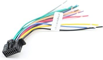 Xtenzi Car Radio Wire Harness Compatible with Kenwood CD DVD Navigation on kenwood ddx6019, kenwood remote control, kenwood power supply, kenwood wiring-diagram, kenwood instruction manual,