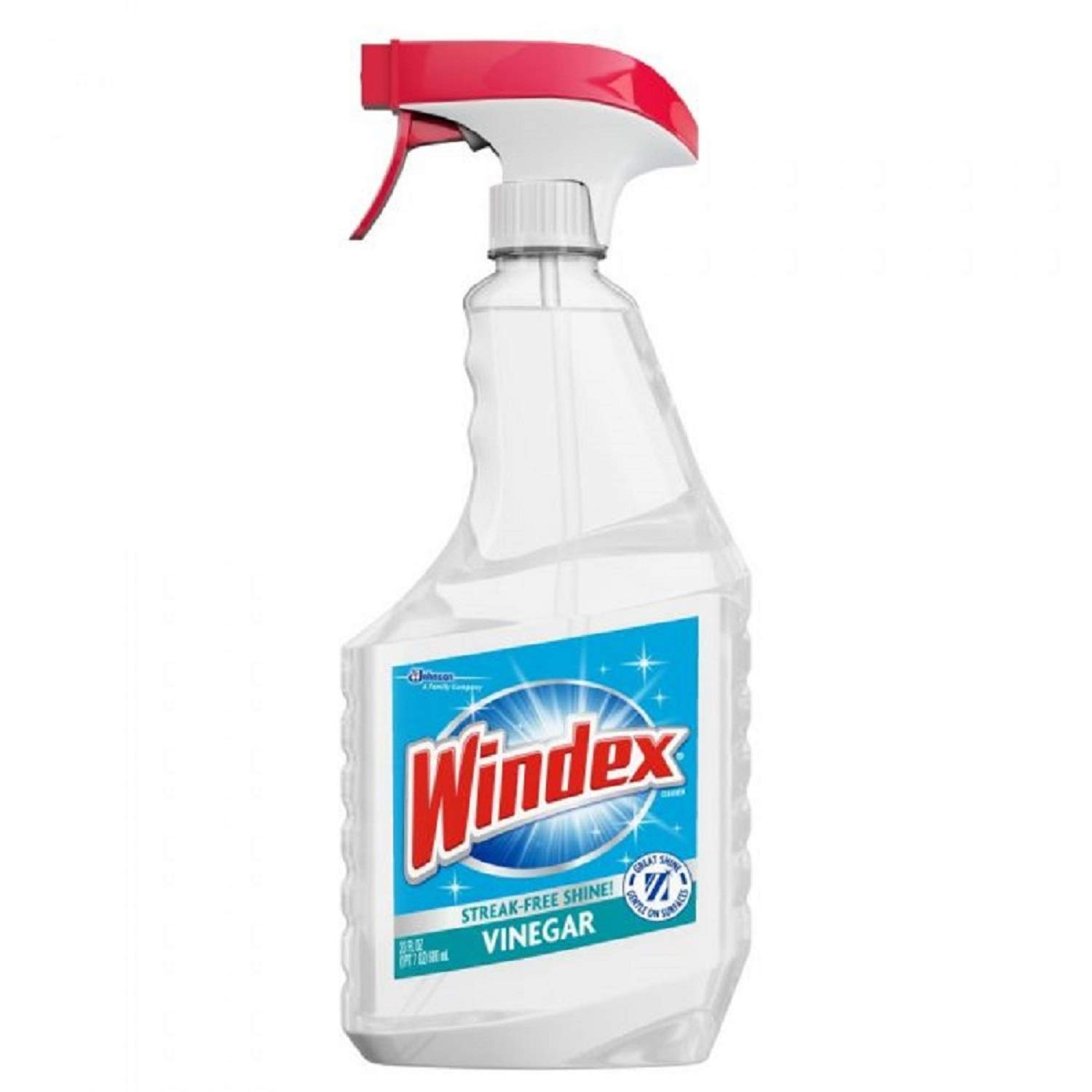 best authentic 7e413 c0212 Windex 679596 Glass Vinegar Cleaner, Fresh Clean Scent, 23 ounces Spray  Bottle (Case of 8)