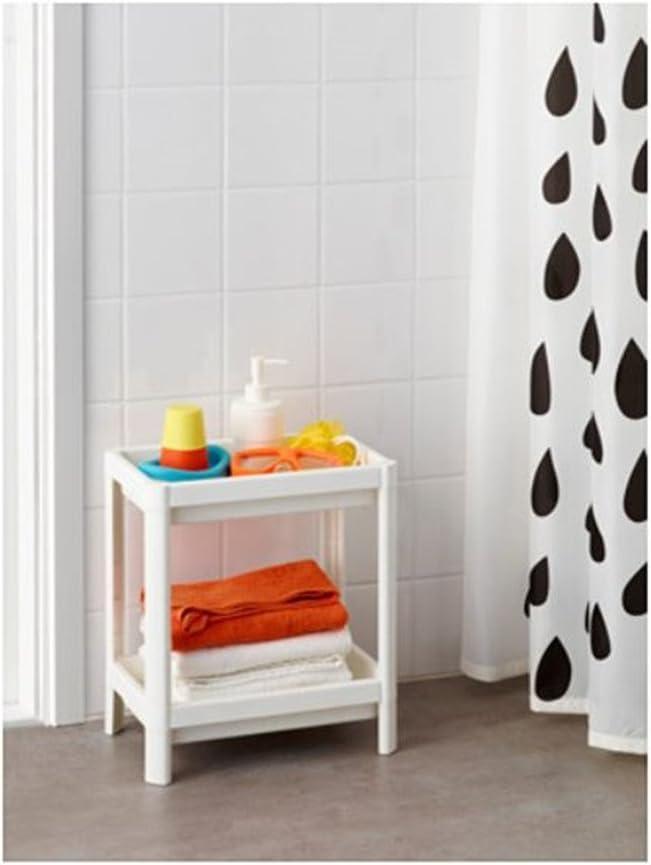 SHI53 IKEA VESKEN 2 Shelving unit white 36x23x40 cm