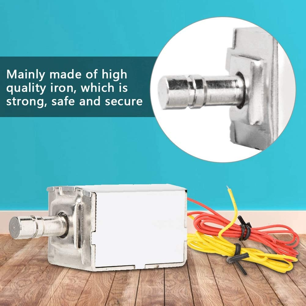 for Door Cabinet Junluck Electromagnetic Lock Iron DC 12V Lightweight Steady Electric Bolt Lock