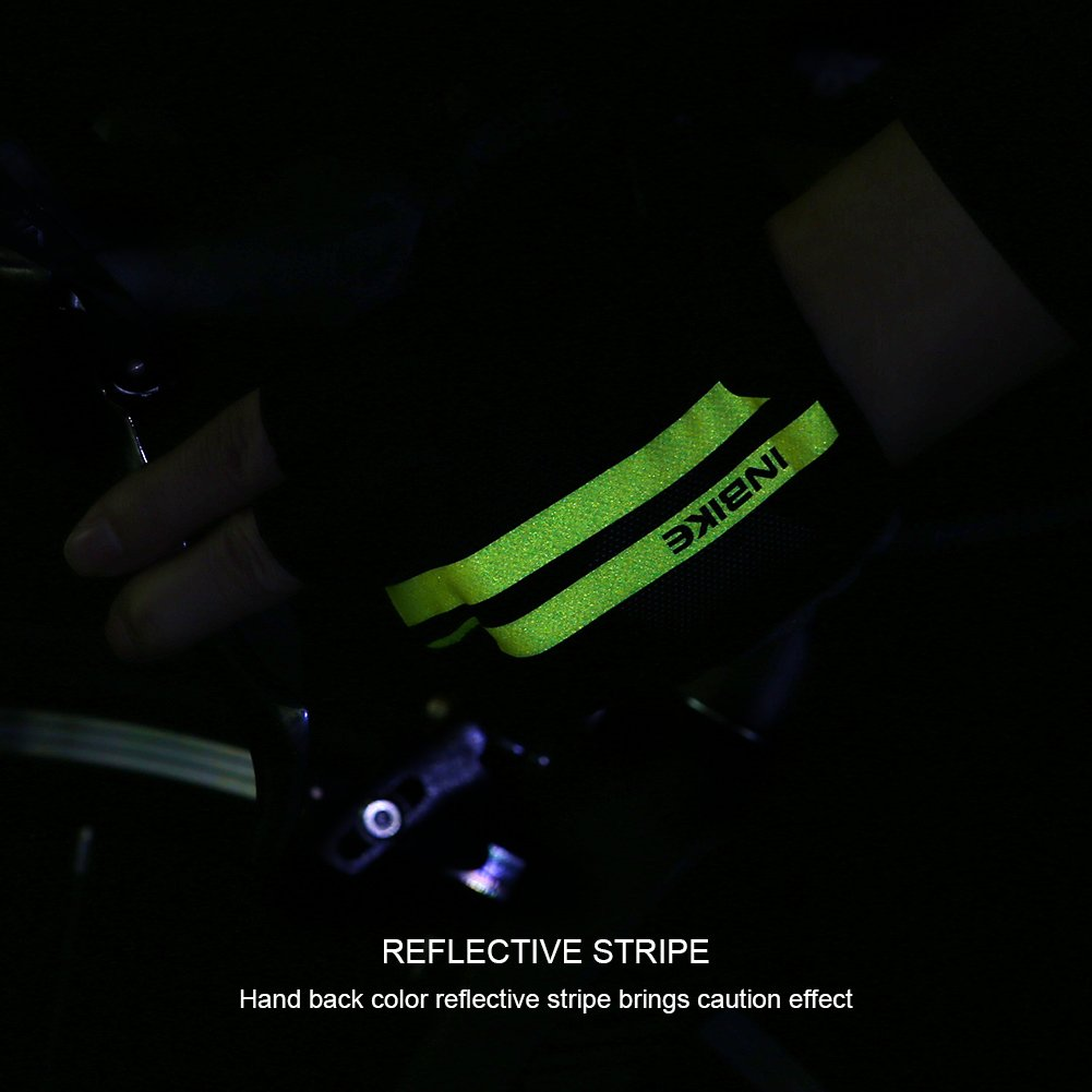Inbike Half Finger EVE Palm Padded Cycling Fingerless Gloves