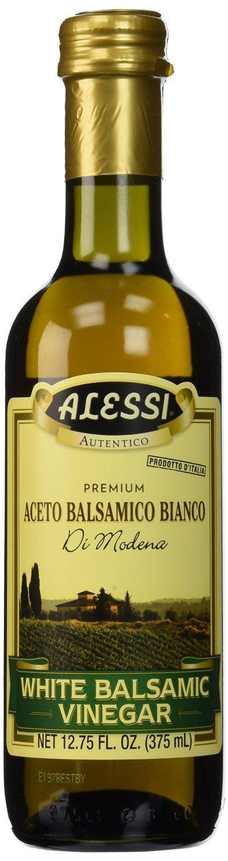 Alessi Premium Aceto Balsamic Bianco (White Balsamic Vinegar) 12.75 OZ | 1 Pack