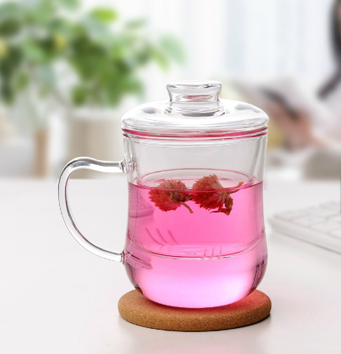 Tea Infuser Glass