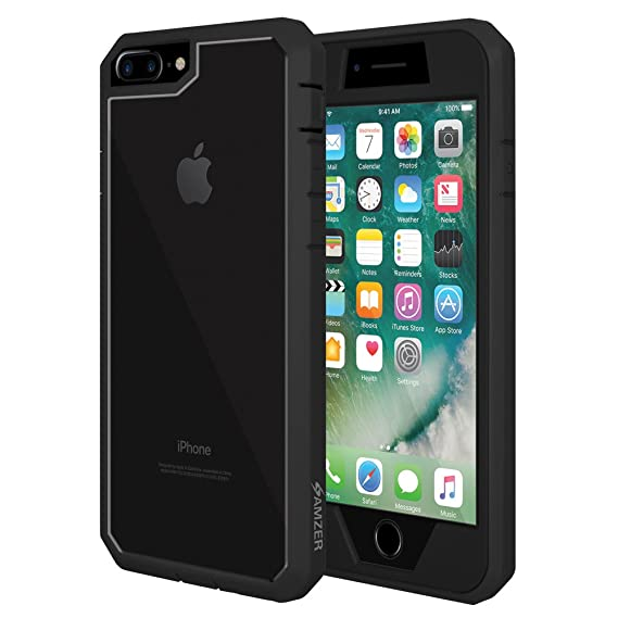 bfb7608dadc Image Unavailable. Image not available for. Color  AMZER Full Body  Protective Case ...