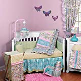 Dena Sophia 5 Piece Baby Crib Bedding Set with Bumper by Kidsline