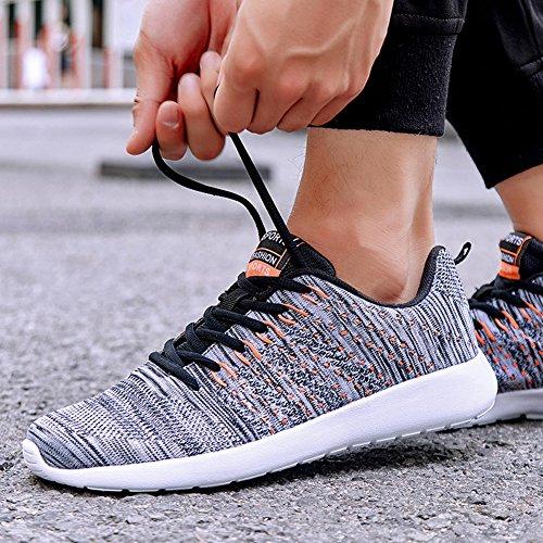 Mesh Sneakers Voor Mannen En Vrouwen Casual Fashion Fitness Lichtgewicht Deodorant Ademende Loopschoenen Grijs