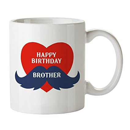Buy Happy Birthday Brother Coffee Mug