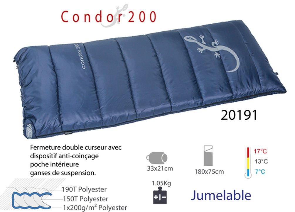 freetime-sac de dormir protectora senderismo, Condor 200, saco de dormir 1 persona: Amazon.es: Deportes y aire libre