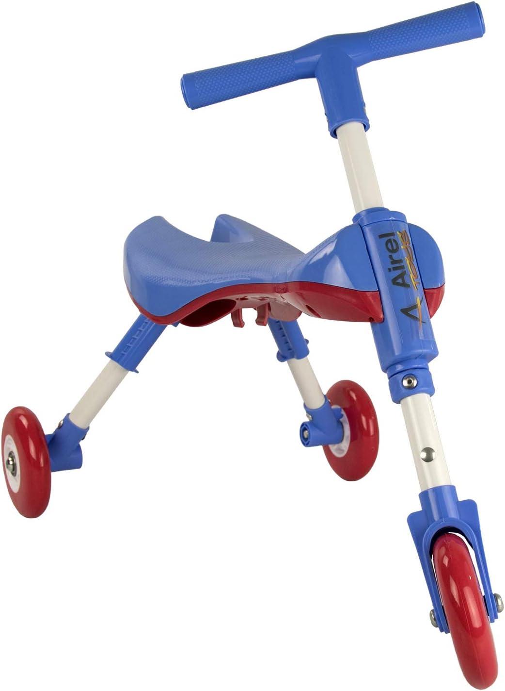Airel Triciclo Sin Pedales | Correpasillos Bebé | Triciclo Sin Pedales Bebé | Triciclo Sin Pedales Plegable | Triciclo Sin Pedales Infantil | De 1 a 3 años