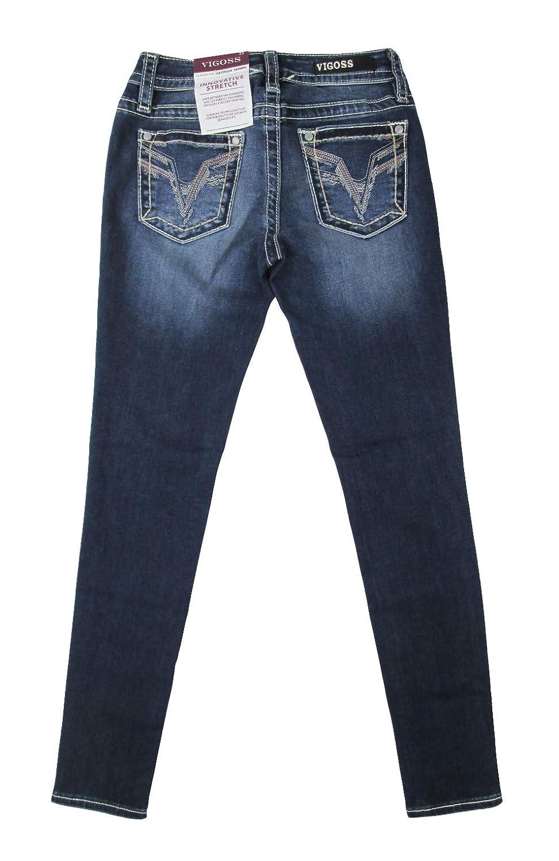 VIGOSS Women's Georgia Classic-Fit Skinny Jeans VC-P11700A