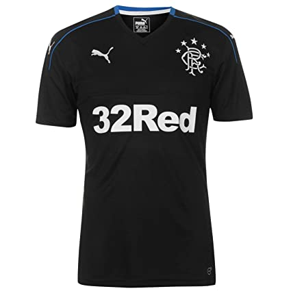 huge selection of 508bd 22200 Amazon.com : Official Puma Glasgow Rangers Third Jersey 2017 ...