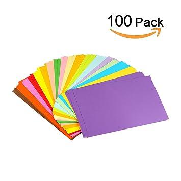 Erlliyeu Papier Origami Faltpapier Double Page 100 Feuilles 10