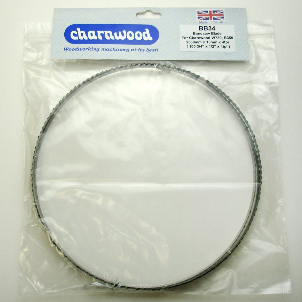 BB38 Bandsaw Blade 2560mm x 25mm x 0.7mm x 3tpi to fit Charnwood B350