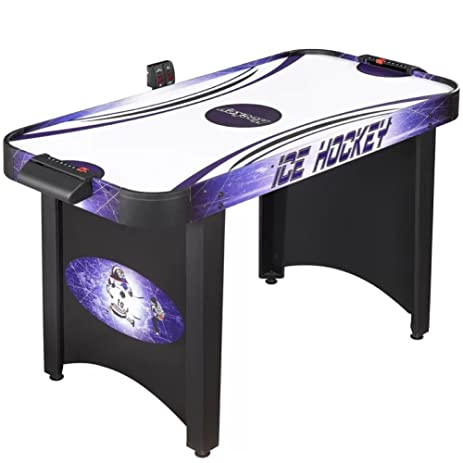 Hat Trick 4u0027 Air Hockey Table, Portable Air Hockey Table