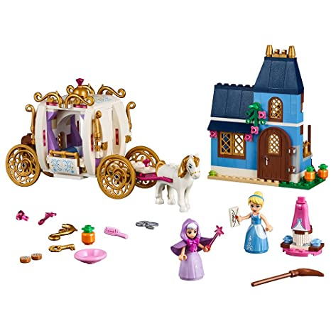 Lego Disney Princess Cinderellas Enchanted Evening 41146 Building Kit 350 Piece