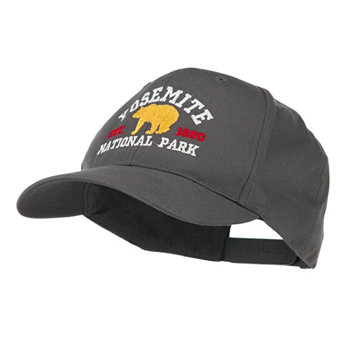 715ab5ae6 Yosemite National Park Embroidered Cap - Charcoal Grey