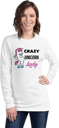 Art Gallery Misr Crazy Unicorn Lady T-Shirt