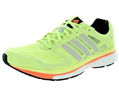 1554fdfad Adidas Supernova Glide 6 Boost Running Sneaker Shoe - Womens Glow 11 B(M)  US  Buy Online at Low Prices in India - Amazon.in