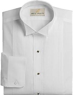Womens Tuxedo Shirt - Wing Collar, 1/8
