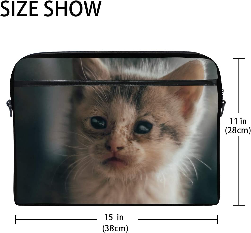 Adorable Animal Cat Mens and Womens Computer Bags Shoulder Bags Briefcases Suitable for 15 Inch Computers Handbags