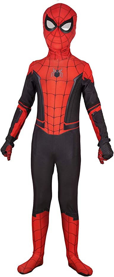 MEET Kids Bodysuit Superhero Costumes Lycra Spandex Halloween Cosplay Costumes