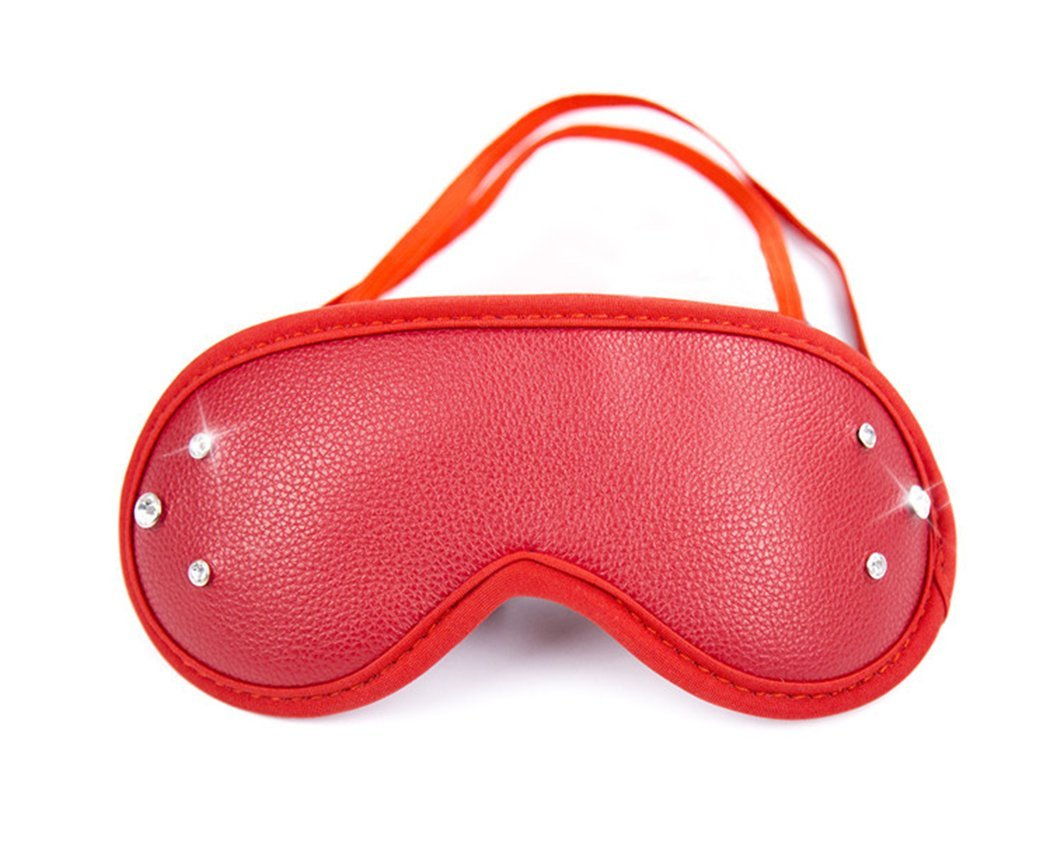 dfca926dc6c1d Amazon.com: Make life wonderful Funny Masquerade Halloween Role Play Fancy  Dress Costume Party Cosplay Sleep Eyes Mask (Style 161): Sports & Outdoors