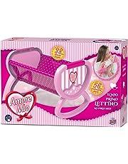 Grandi Giochi- Amore Mio Il Mio Primo Lettino, Colore Rosa, GG71046