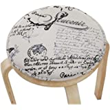 Blancho Vintage Round Stool Cushion Warm Sponge Pad Bar Stool Mat
