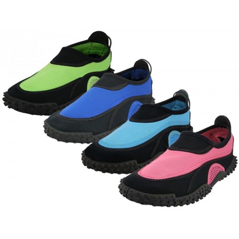 Wholesale Women's Aqua Socks water shoes, swimming, yoga, exercise, beach, pool (6-11)