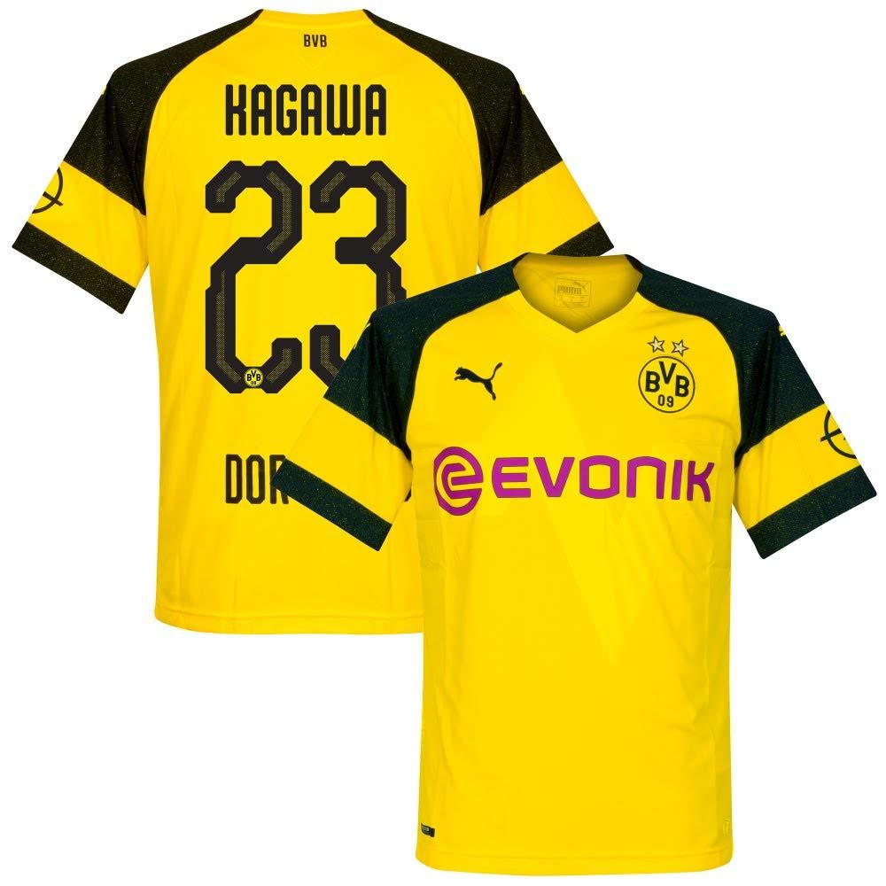 Borussia Dortmund Home Trikot 2018 2019 + Kagawa 23