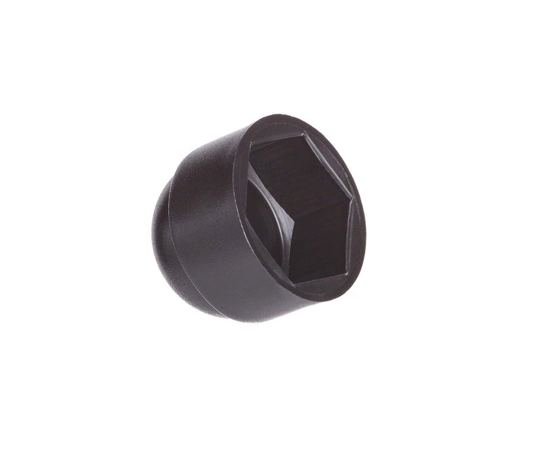 50 pcs. cache-écrous M10 (pour la clé 17) noir Bouchons Capuchon Embout EMFA