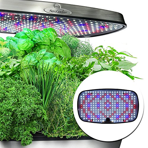 AeroGarden Bounty Elite Wi-Fi with Gourmet Herb Seed Pod ...