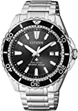 Citizen Mens Solar Promaster ISO Certified Steel Divers Watch BN0190-82E