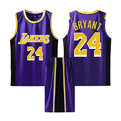 Chándal de Baloncesto Kobe Bryant 24# 2 Piezas Ropa Deportiva Ropa ...